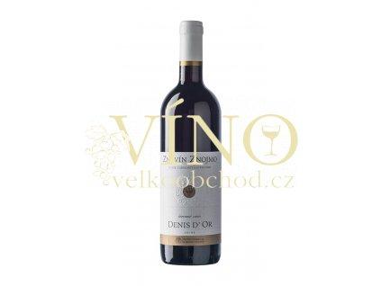 Znovín Znojmo Denis d'Or známkové 0,75 l suché červené víno