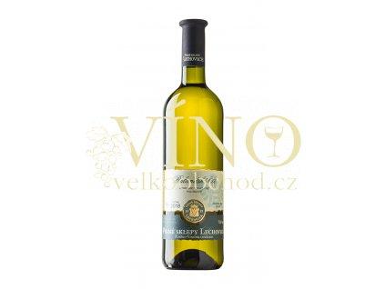 Znovín Znojmo Rulandské bílé 2018 moravské zemské 0,75 l suché bílé víno Vinné sklepy Lechovice