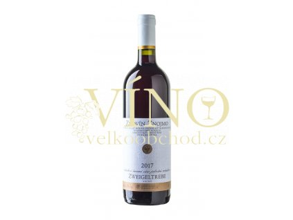 Znovín Znojmo  Zweigeltrebe jakostní víno červené 2017