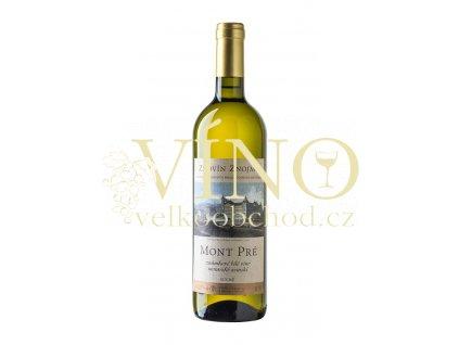 Znovín Znojmo Mont Pré 2019 moravské zemské 0,75 l suché bílé víno