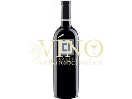 Gager, Blaufränkisch Klassik 0,75 l suché cervene vino