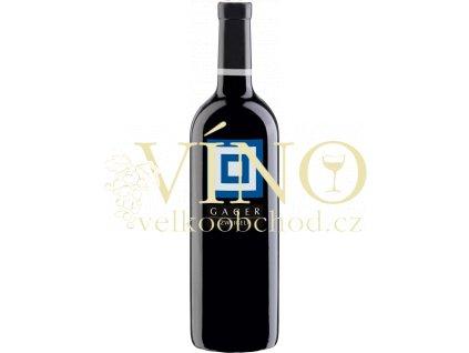 Gager, Zweigelt 0,75 l suché červené rakouské víno