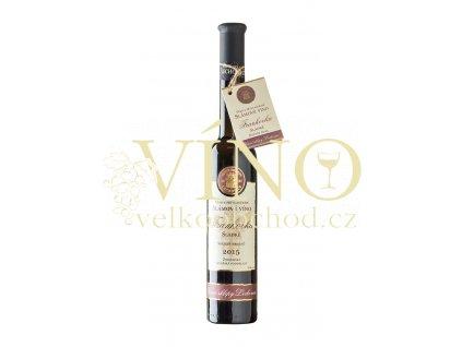 Znovín Znojmo Frankovka slámové víno 2015 Vinné sklepy Lechovice