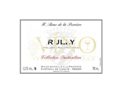 Rully rouge - H. Brac de le Perriere 2013 BRAC DE LA PERRIERE