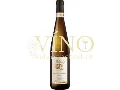 Habánské sklepy Müller Thurgau jakostní 0,75 l suché bílé víno