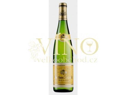 Gustave Lorentz 2019 Riesling Réserve 0,75 l francouzské bílé víno z Alsaska
