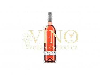 1880 karpatska perla cabernet sauvignon rose 2017