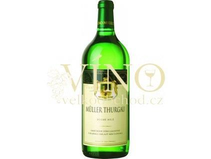 Víno - Víno Mikulov Müller Thurgau jakostní 1l