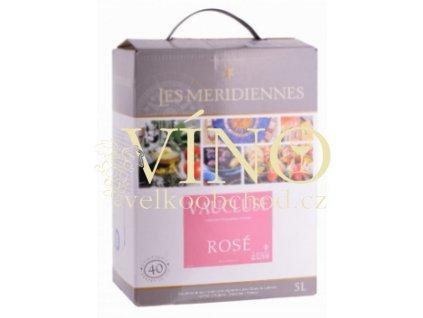 Akce ihned Bag-in-Box 5l IGP růžové Marrenon
