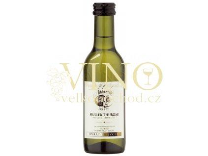 Habánské sklepy Müller Thurgau jakostní 0,187 l suché bílé víno