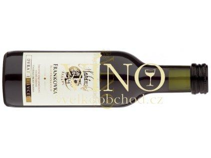 Akce ihned Habánské sklepy Frankovka jakostní 0,187 l suché červené víno