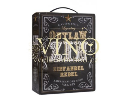Zinfandel Outlaw Bag in Box 3L