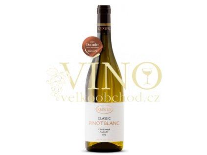 Reisten Classic Pinot Blanc 2019 pozdní sběr