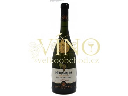 Zámecké vinařství Bzenec Herbarium Moravicum Rulandské bílé 2016 2017 pozdní sběr 0,75 l suché bílé víno