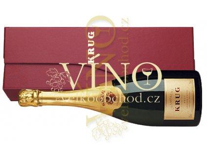 Akce ihned Krug Champagne Grande Cuvée v dárkovém boxu 0,75 l šampaňské