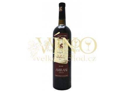 Georgina Wine Amirani suché 0,75 l 11% červebí gruzínské víno