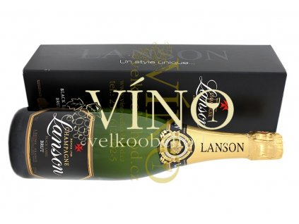 Akce ihned Champagne Lanson Black Label Brut 0,75 l in giftbox