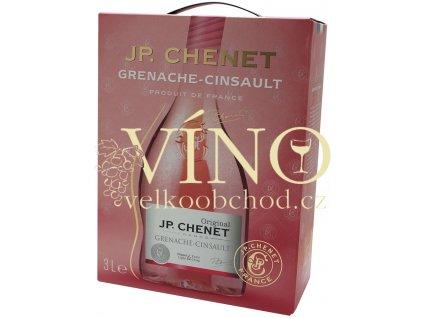 Akce ihned íno J.P.Chenet Grenache - Cinsault Rosé BIB 3 l francouzské růžové polosuché bag in box