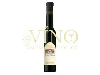 Víno - CHATEAU LEDNICE Tramín červený slámové víno 2007 sladké 0,2 l