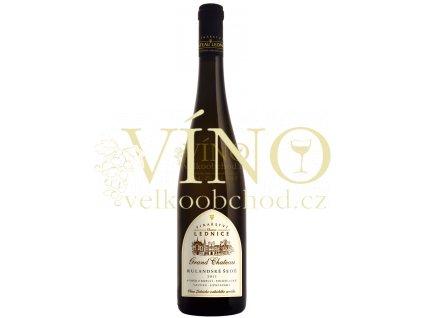 Víno - CHATEAU LEDNICE GRAND CHATEAU Rulandské šedé 2011 výběr z bobulí, polosladké 0,5 l