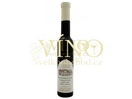 Víno - CHATEAU LEDNICE Rulandské šedé slámové víno 2006 sladké 0,2 l