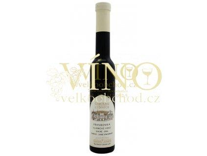 Víno - CHATEAU LEDNICE Frankovka slámové víno 2006 sladké 0,2 l