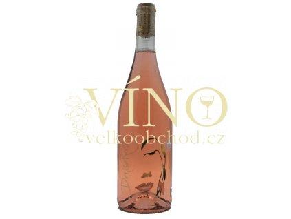 Akce ihned Grmolec Denise Rosé 2019 pozdní sběr 0,75 l polosuché růžové víno