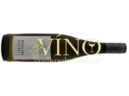 Akce ihned Weingut Geil Riesling kabinett 0,75 l polosuché německé bílé víno z oblasti Rheinhessen