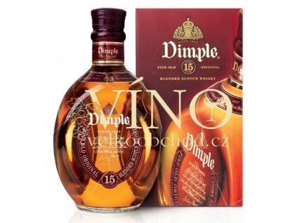 Dimple 15 Year Old blended skotch whisky 0,7l 40%  skotská whisky