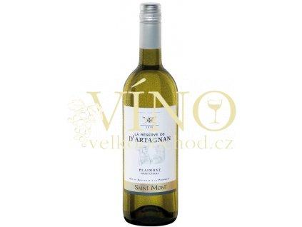 La Réserve de D´Artagnan Saint Mont Blanc VdP francouzské bílé víno z oblasti Cotes du Gascogne