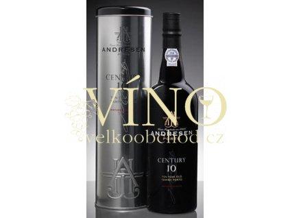Víno - ANDRESEN Port Andresen 10 let + tuba