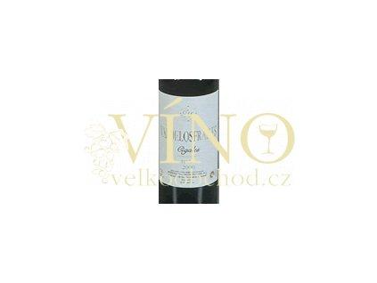 Víno - CIGALES Valdelo Frailes tinto 2002