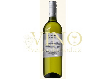 Mikrosvín Mikulov Standard Line Veltlínské zelené 2011 jakostní 0,75 l suché bílé víno