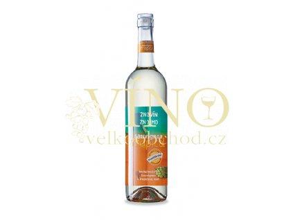 Znovín Znojmo VINOLOCK Sauvignon Tropical 2015 pozdní sběr 0,75 L polosuché bílé víno
