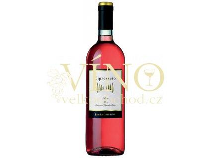 Antinori Tenuta Santa Cristina Cipresseto Rosato IGT italské růžové víno z oblasti Toscana