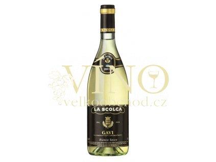 La Scolca Gavi dei Gavi DOCG Etichetta Nera italské bílé víno z Piemonte
