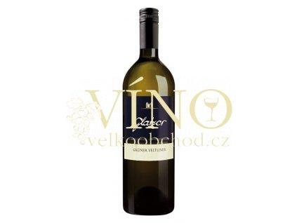 Glatzer Grüner Veltliner rakouské bílé víno z oblasti Carnuntum