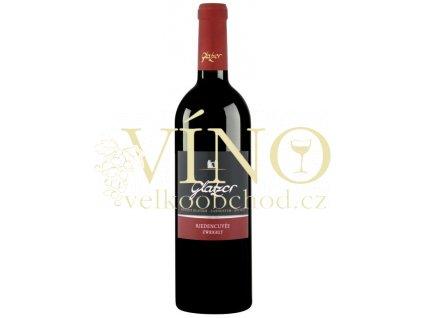Glatzer Zweigelt rakouské červené víno z oblasti Carnuntum