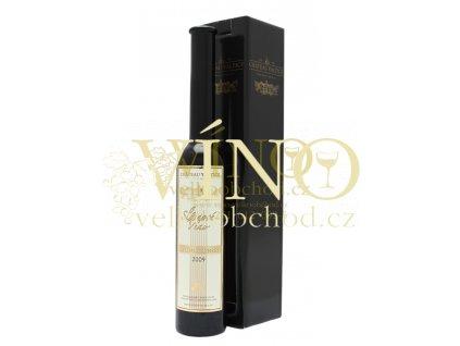 Vinné sklepy Valtice Ryzlink rýnský 2009 slámové 0,2 l sladké moravské bílé víno