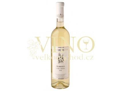 Vinné sklepy Valtice Aurelius 2015 výběr z hroznů 0,75 l polosuché bílé víno