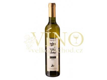 Vinné sklepy Valtice Aurelius 2015 výběr z bobulí 0,5 l sladké bílé víno