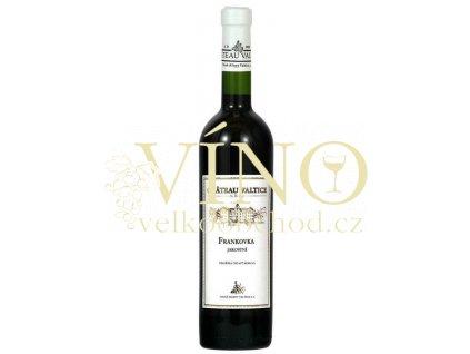 Vinné sklepy Valtice Frankovka jakostní 0,75 l suché červené víno