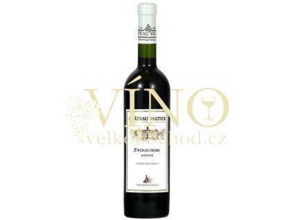 Vinné sklepy Valtice Zweigeltrebe jakostní 0,75 l suché červené víno