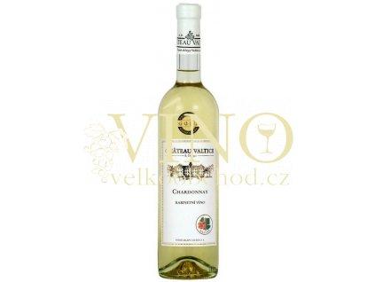Vinné sklepy Valtice Chardonnay 2015 kabinetní 0,75 L suché bílé víno