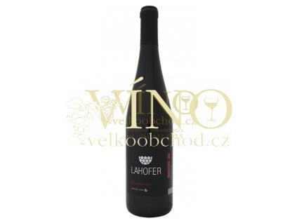 LAHOFER Frankovka 2013 pozdní sběr 0,75 L Na Vyhlídce (31/13) suché moravské červené víno