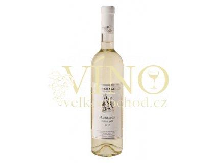 Vinné sklepy Valtice Aurelius 2015 pozdní sběr 0,75 l polosuché bílé víno
