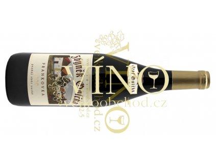 Akce ihned Zbyněk Osička EDITION GROF Frankovka 2009 pozdní sběr 0,75 L suché moravské červené víno Velké Bílovice