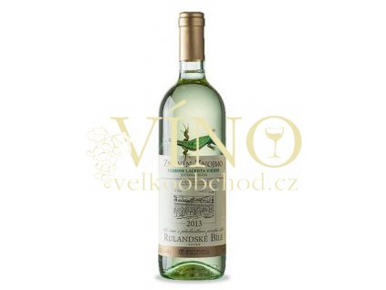 Znovín Znojmo Lacerta Viridis Rulandské bílé 2016 pozdní sběr 0,75 l suché moravské bílé víno