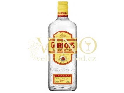 Gordons London Dry Gin 1L 37,5%