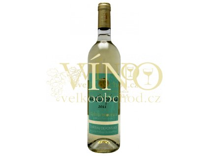 "Víno - Chateau De Fontlade ""Aurelia prima"" AOC blanc 2011"